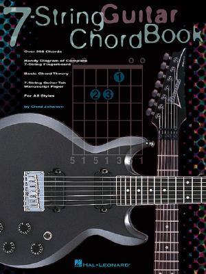 7-String Guitar Chord Book By Johnson, Chad